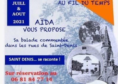 Balade théâtralisée : St Denis au fil du temps…!